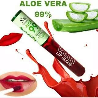 Sasimi aloe vera 99% liptin creamy finish