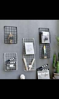 🚚 Metal grid organiser rack po