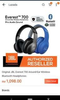 JBL Everest 700 Bluetooth headphones