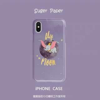 🚚 iPhone 6/6p/7/7p/8/8p/X/XR/XS/MAX Disney Dumbo Casing