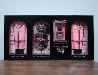 Victoria Secret Eau So Sexy lotion perfume wash set
