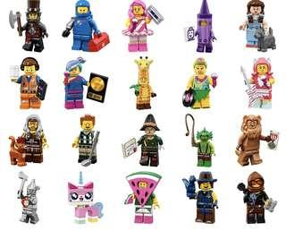 🚚 Lego Movies 2 collector minifigs (Full Set)