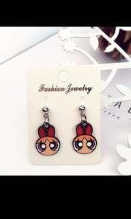 🚚 Korean graphic earrings po