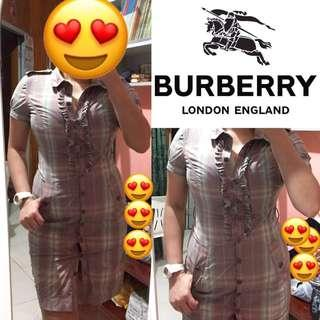 Burberry ruffled dress original SALE!!