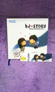 BUKU/NOVEL/KOMIK - ANDREW HOU : HJ LOVE STORY