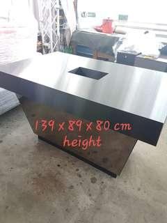 Table for display retail cashier top