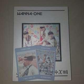 Wanna One Undivided Triple Position