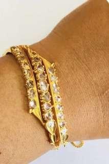 🚚 20K Rose-cut Intant Bracelet