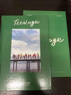 Seventeen Teen Age 2nd album