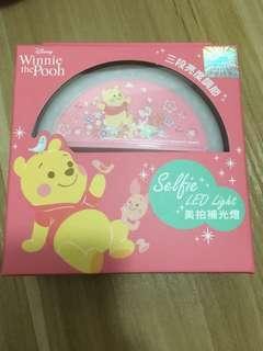 小熊維尼美拍補光燈 自拍燈 Winnie the Pooh selfie LED light