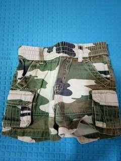 Celana Pendek Bayi Army