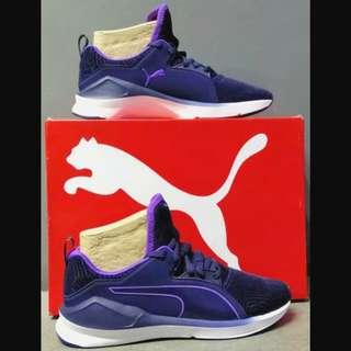 Puma fierce lace flocking (Peacoat blue/purple)