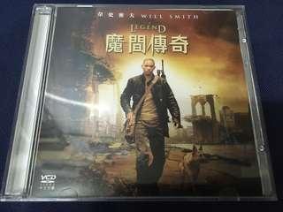 I am Legend 魔間傳奇 港版 圖案 VCD