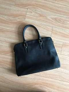 Danier leather laptop bag