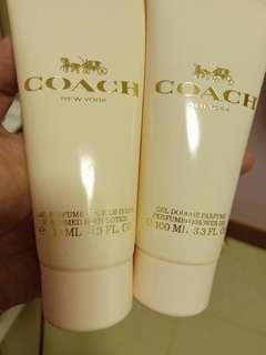 🚚 Coach body lotion and shower gel 100 ml