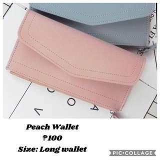 On Hand! Peach Wallet