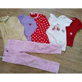girls clothes (5-6 years old)