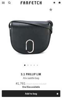 3.1 Phillip lim alix saddle bag