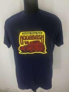 Vintage deadstock 86 Aquabash hot rod t shirt