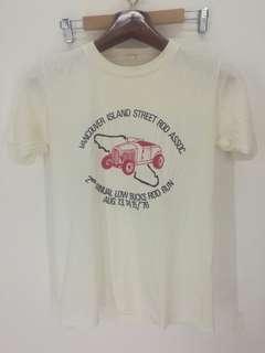 Vintage 70s deadstock hot rod t shirt