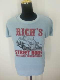 Vintage deadstock hot rod t shirt