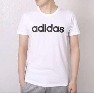 Adidas t shirt white Adidas Neo