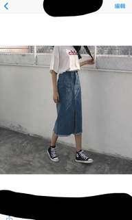 🚚 S 牛仔裙
