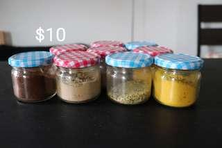 Jars spices & spices