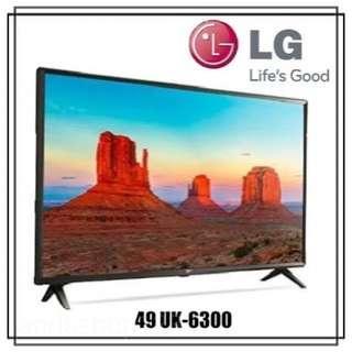 LG Led TV 49UK6300 Smart TV UHD 4K 49inch Garansi Resmi Harga Promo