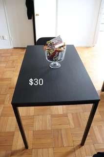 Kitchen table Ikea Black