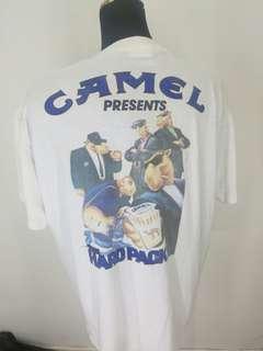 Vintage 90s camel pocket t shirt