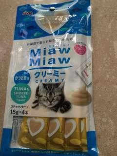 日本 Aixia Miaw Miaw 肉泥 吞拿魚味 # 貓