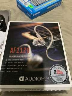 Audiofly af1120 單晶銅鍍金線
