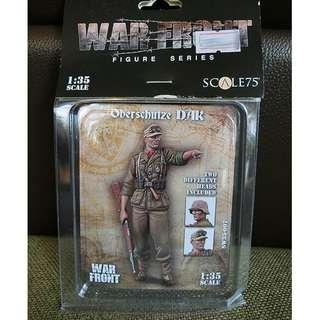 【原裝正版※樹脂兵】1/35 WAR FRONT #SW35-007 Oberschutze DAK Two Different Heads Included Resin Figure