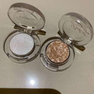 Etude house and beyond shimmer eyeshadow