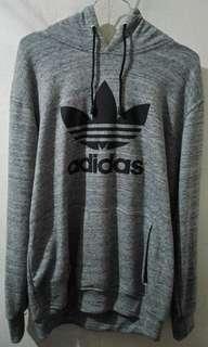 Grey Hoodie Adidas