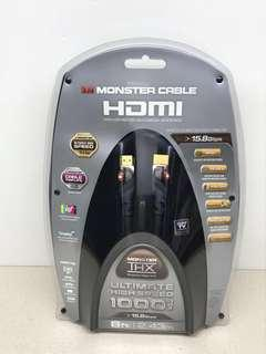 MONSTER CABLE 1000 ULTIMATE HIGH SPEED CABLE 8 Feet - 15.8Gbps