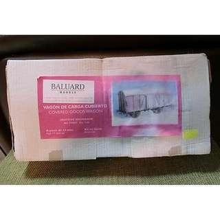 【原裝正版※樹脂手辦模型】1/35 BALUARD MODELS F35027 COVERED GOODS WAGON Resin kit(附金屬件)