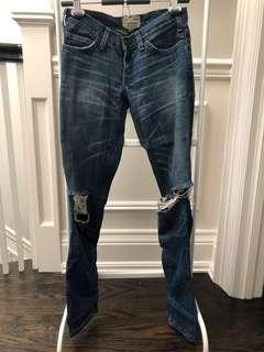 CURRENT/ELLIOTT The Skinny Jeans (distressed jeans)