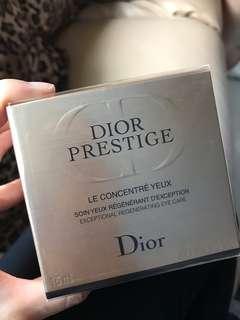 包順豐 接近半價 公價$1350 包順豐 公價$1350 Dior prestige eye cream 玫瑰花蜜活顏再生眼霜 15ml