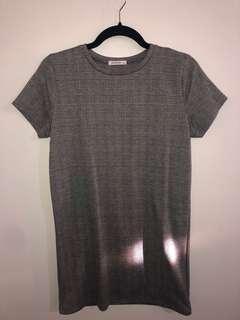 Plaid dress size small