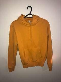 H&M mustard hoodie