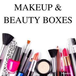 🚚 BRAND NEW SEALED makeup & beauty grab bag grabbac