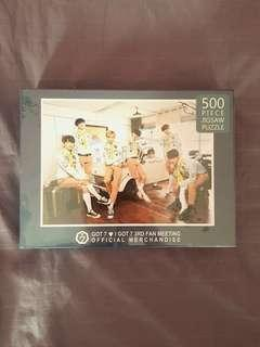 SEALED GOT7 Official 3rd Fan meeting 500 piece jigsaw puzzle