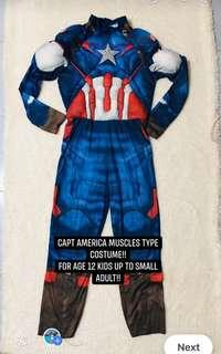 Capt america miscles type costume