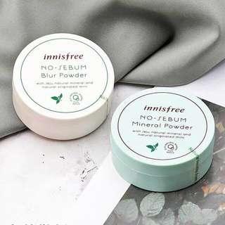🚚 ✨INSTOCK! Innisfree No-Sebum Mineral Loose Powder