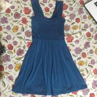 Teal Sweetheart Dress