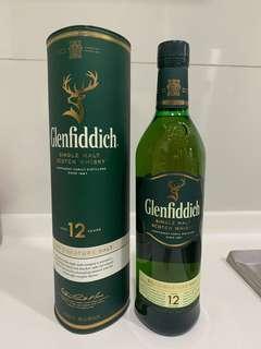 🚚 Glenfiddich 12 Years 750ml