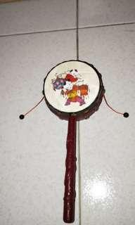 Chinese authentic drum spin