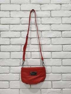 Marc By Marc Jacobs Sling Bag Red